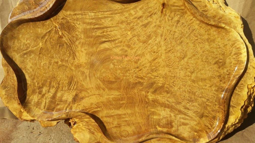 Vẻ đẹp của gỗ Nu Nghiến